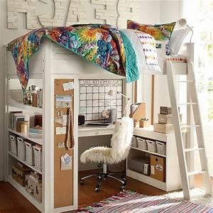 Doppel Hochbett Kinder : twin loft bett mit schreibtisch fiel teppich loft betten brust schublade schrank regal ~ Orissabook.com Haus und Dekorationen
