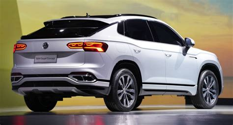 vw shows teramont   suv coupe concept