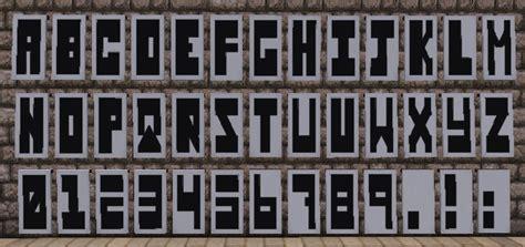 Minecraft Banner Letter M