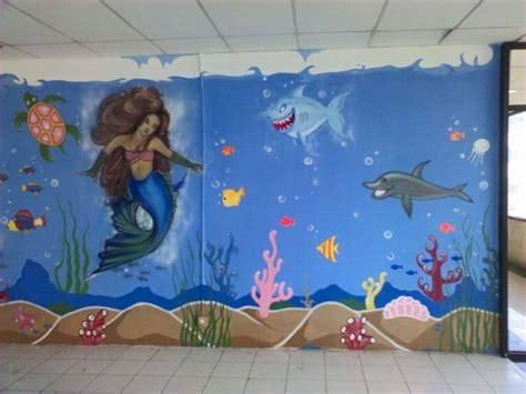 gambar lukisan dinding  keren banget