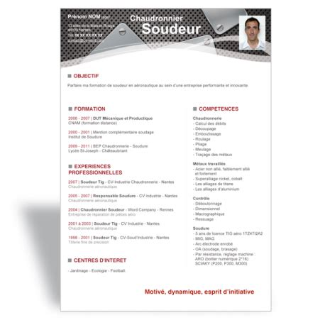 Modèle Cv Professionnel 2016 by Resume Format Modele Cv Gratuit A Telecharger Mac