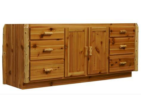 cedar kitchen island cedar log kitchen island with optional butcher block top 2033
