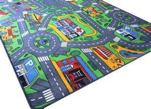spielteppich kinderzimmer havelt teppich spielteppich straßenteppich straßen spiel kinderteppich für autos ebay