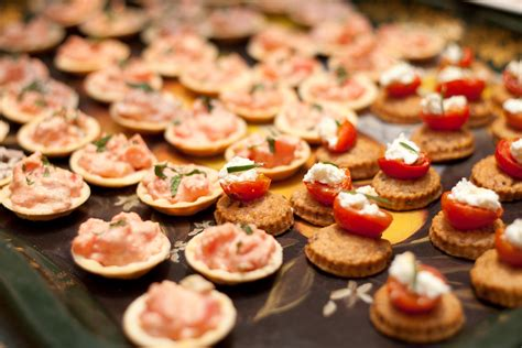 dessert canapes hors d 39 oeuvre