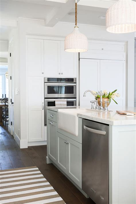 Inspiring White Kitchen With Light Blue Island  Home. Fake Kitchen Backsplash. Painted Kitchen Cabinets Color Ideas. Peel And Stick Kitchen Floor Tile. Limestone Countertops Kitchen