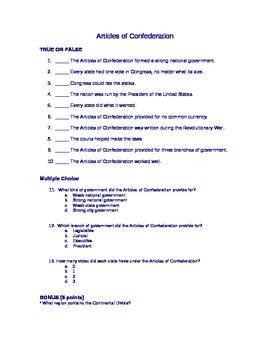 articles  confederation quiz  lindsey stapleton tpt