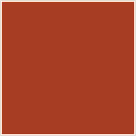 a63c21 hex color rgb 166 60 33 cognac orange