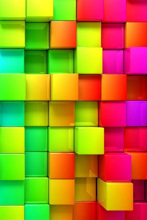 cube iphone 4 4s glossy 3d cubes wallpaper free iphone wallpapers