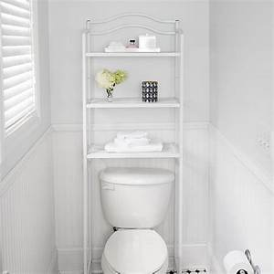 Over, Toilet, Rack, Free, Standing, 3, Tier, Toilet, Storage, Rack, Metal, With, 3, Shelves, White
