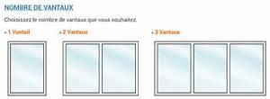 dimension baie vitree coulissante 3 vantaux baie vitree ou With fenetre pvc dimension standard