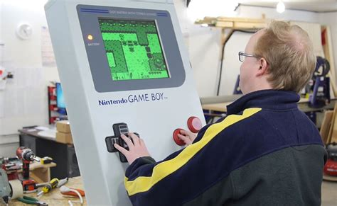 Game Boy Gets Supersized Using Sintra Expanded Pvc Board