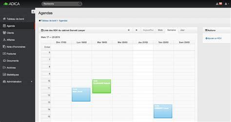 logiciel gestion cabinet adica fonctionnalit 233 s