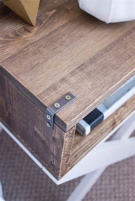 Nightstand With L Attached by My Daily Randomness Hdblogsquad Diy Nightstands