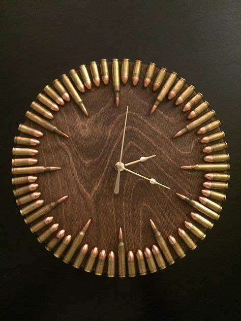 clocks decor bullet clock  inert ammo great gift