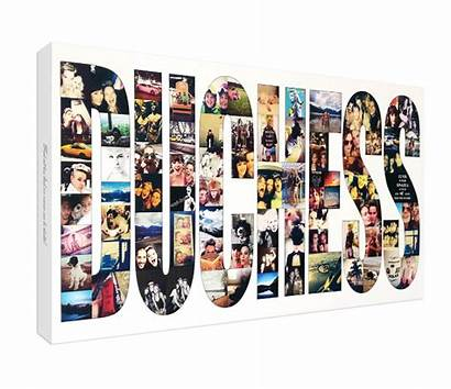 Collage Canvas Word Ltd Bebes Collages