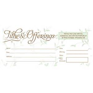 Church Tithe and Offering Envelopes