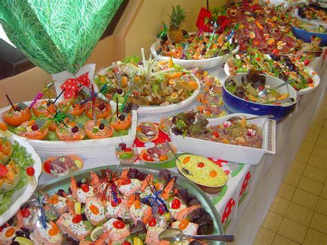 un buffet froid mais haut de gamme pour le mariage