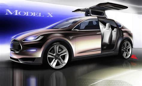 tesla model    info news car  driver