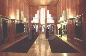 Chrysler Building interior of lobby | Lend Me a Tenor ...