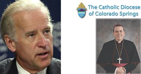 Bishop to Biden: No Communion in Colorado Springs Diocese