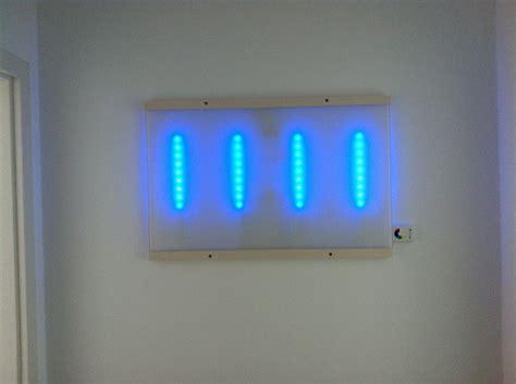 malm glass plate and dioder led wall light ikea hackers