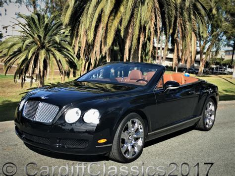 2007 Used Bentley Continental Gtc At Cardiff Classics