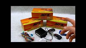 Code Learning Remotes On Autoloc Mfk 285 295 Keyless Entry
