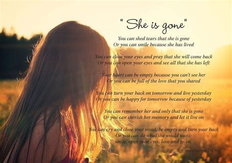 you can shed tears that she is david harkins funeral poem she is by david harkins beautiful poem
