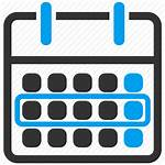 Week Icon Calendar Schedule Plan Event Appointment