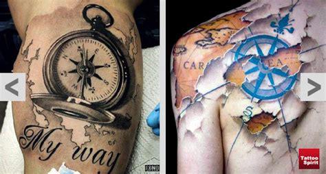 kompass unterarm kompass ideen und uhr t