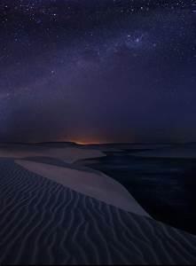 Starlight Dunes : Lencois Maranhenses Sand Dunes, Brazil ...