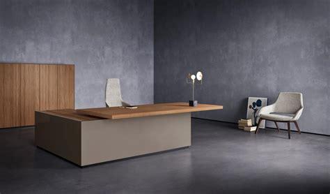 mobilier de bureau haut de gamme bureau de direction design haut de gamme avec retour de bureau