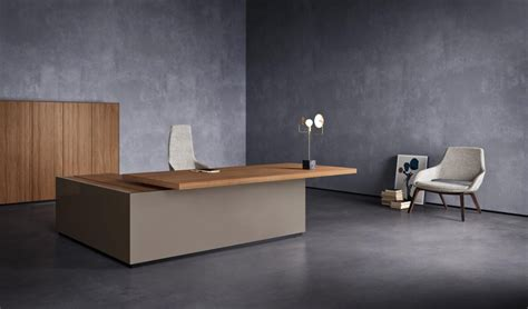bureau de direction luxe bureau de direction design haut de gamme avec retour de bureau