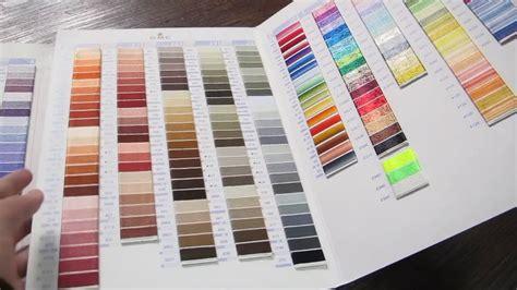 dmc thread color chart dmc machine embroidery thread color chart gutermann
