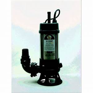 Js 750sk 230v 2 U0026quot  Sewage Manual Cutter Pump