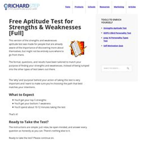 Strengths And Weaknesses Quiz by Competenties Competences Pearltrees