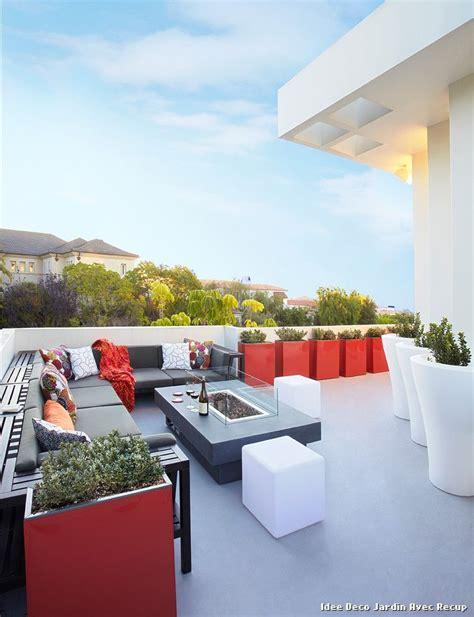 idee deco jardin avec recup with exotique terrasse et patio d 233 coration de la maison et des