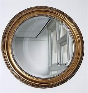 Miroir Doré Rond : miroir rond classique cadre dor antique typical english decorations miroirs pinterest ~ Teatrodelosmanantiales.com Idées de Décoration