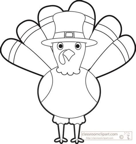 turkey template clipart thanksgiving turkey cartoon black white outline clipart