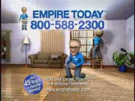 empire flooring jingle quot 588 2300 empire today quot animated clip from the empire today switch youtube