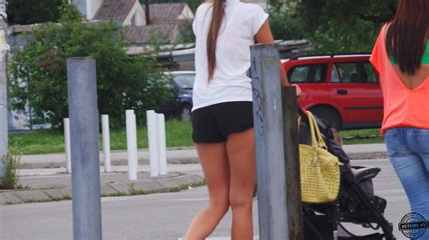 Hot young mom caught on the street - Voyeur Videos