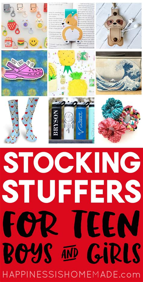 fun stocking stuffers  teens  tweens happiness