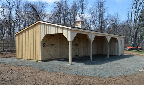 horse barns amish built pa nj md ny j n structures