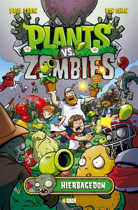 Plants Vs Zombies Hierbagedón  Ecc Cómics