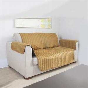 Housse De Canapé 3 Places : couvre canap et fauteuil beige 3 places achat vente housse de canape cdiscount ~ Medecine-chirurgie-esthetiques.com Avis de Voitures