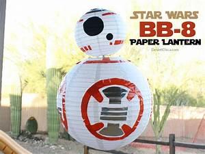 Star Wars Diy : star wars bb 8 paper lantern desert chica ~ Orissabook.com Haus und Dekorationen