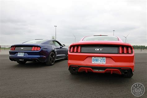 Ford Mustang Shootout Ecoboost Vs Gt Is It Time For A