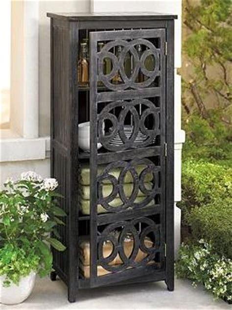 outdoor pool towel storage cabinet amalfi storage cabinet grandin road