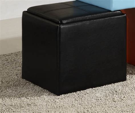 cube ottoman with tray creative dvd storage cube ottoman house plan and ottoman