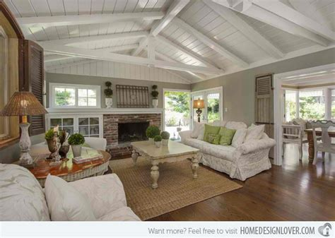 design tips cottage style decorating 15 homey country cottage decorating ideas for living rooms home design lover
